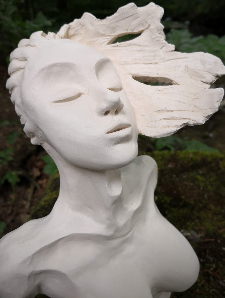 THE AWAKENING sculpture by Cathy Yersin